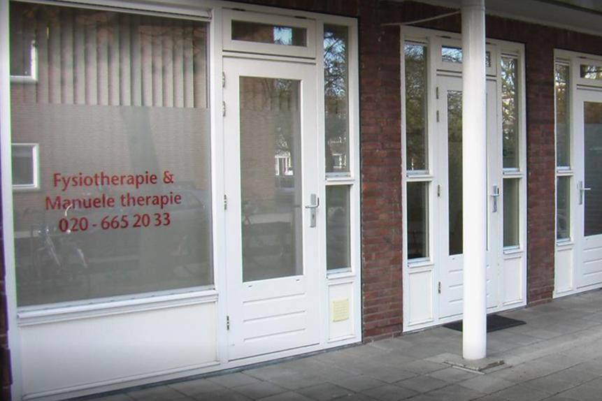 Fysiotherapie Amsterdam Oost J v/d Waalstraat