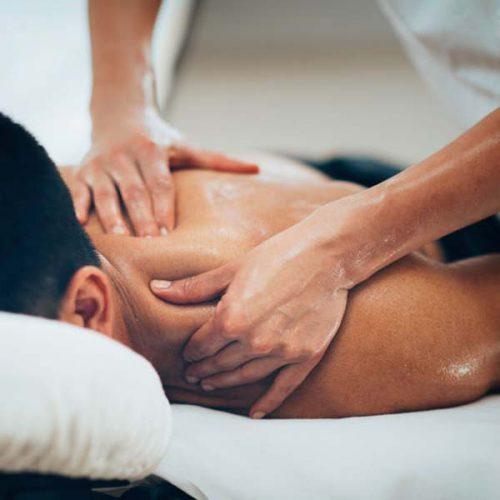 behandeling fysiotherapie massage
