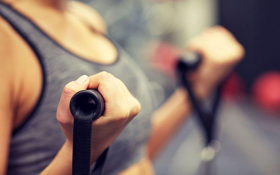 fitness trainen geblesseerd